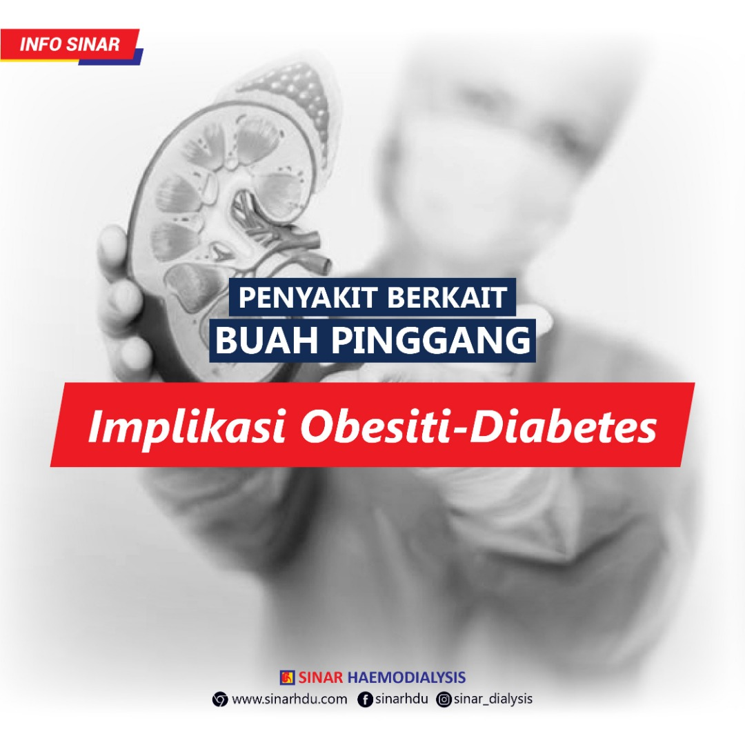 PENYAKIT BERKAIT BUAH PINGGANG BAHAGIAN 2 : Implikasi Obesiti - Diabetes